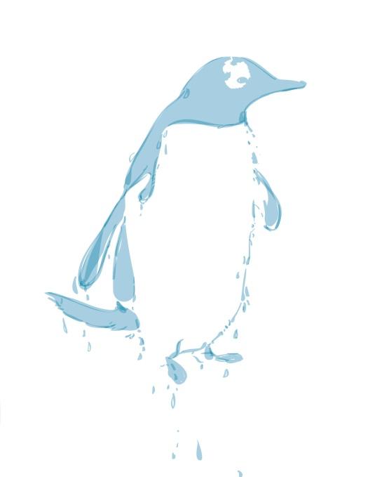 Melting Penguin